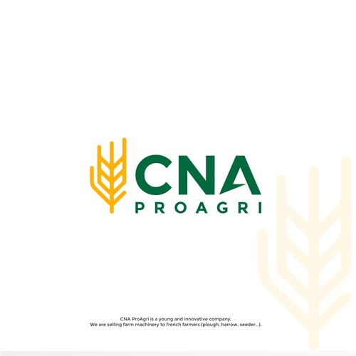 CNA  ProAgri Logo Design.
