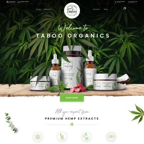 Organic CBD Brand