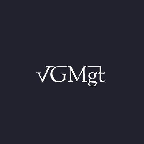 Winner design for vGMgt logo contest.