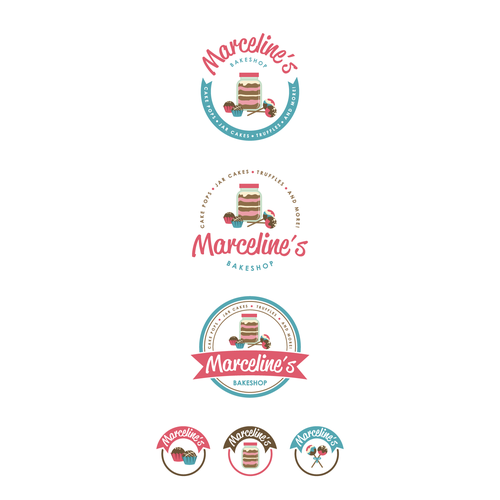 Create and design a fun and cute logo for an upcoming online bakeshop!