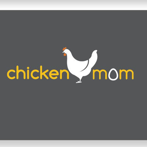 modern logo for products related to chicken