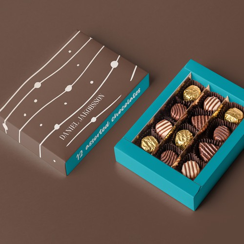 Lux Chocolate Packaging