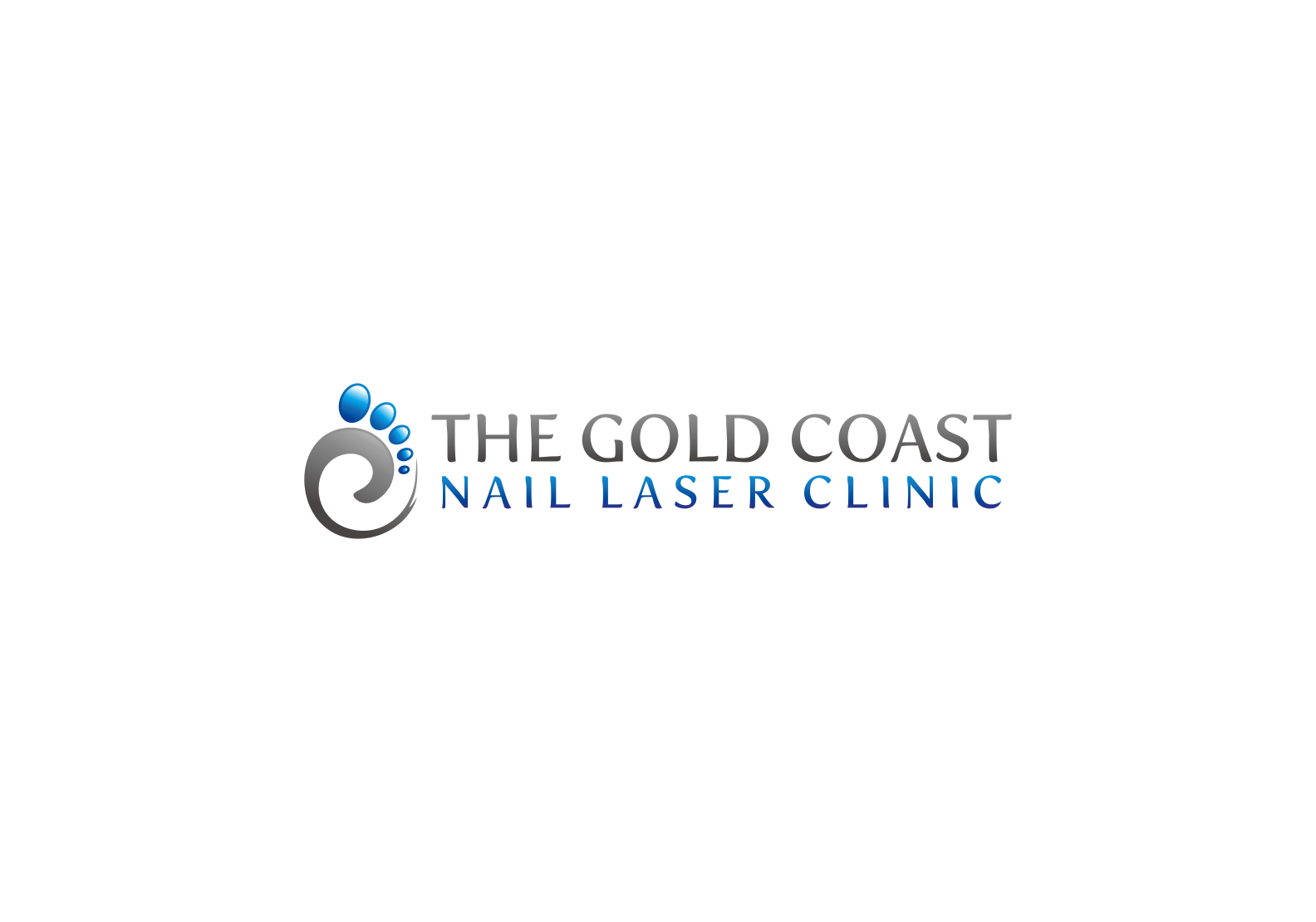 Create a visually inspiring and unique image for The Gold Coast Fungal Laser Clinic