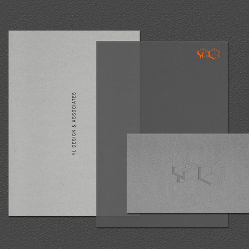 Identity for YL Design & Associates