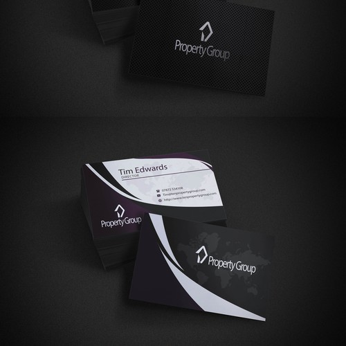 Logo and bussines cards for real estate company