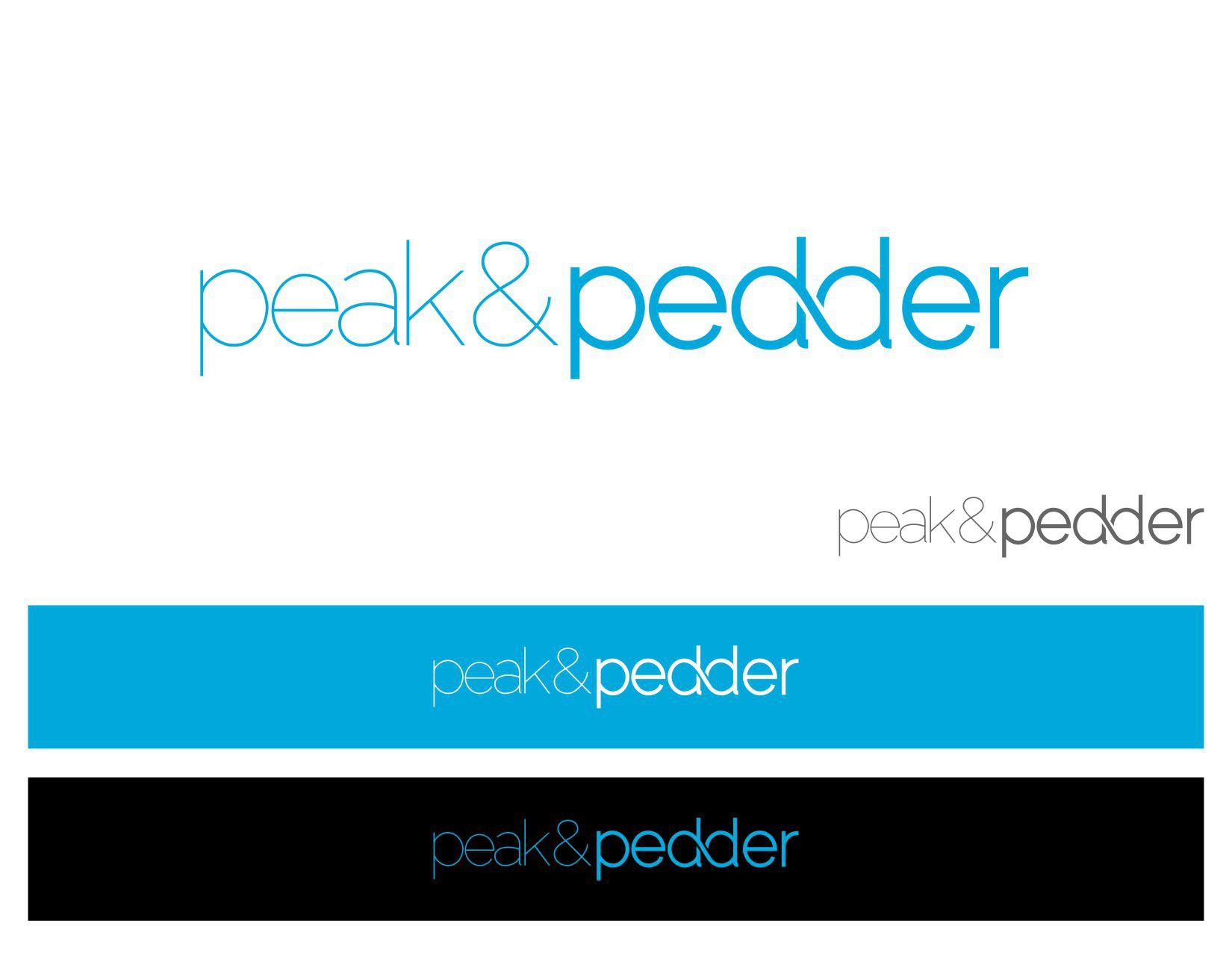 logo for peak&pedder