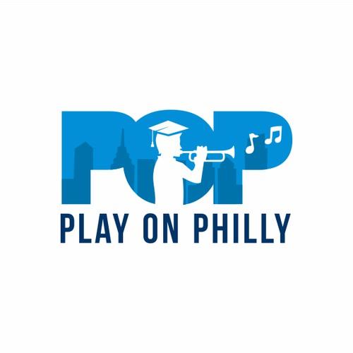 logo for music education for philadelphia kids.