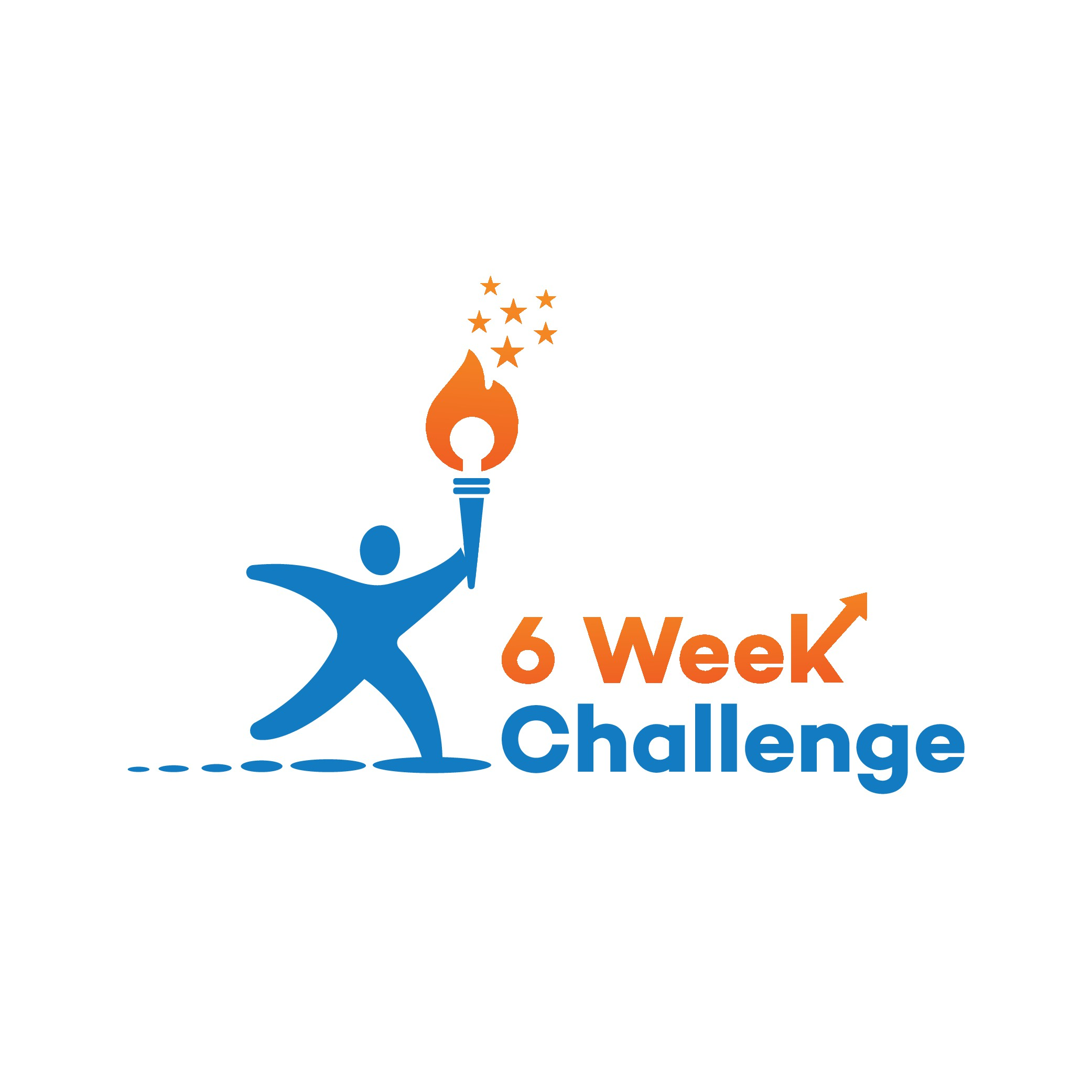 WANTED: Special designer to create 'The 6 Week Challenge' Logo to help blow my client's socks off