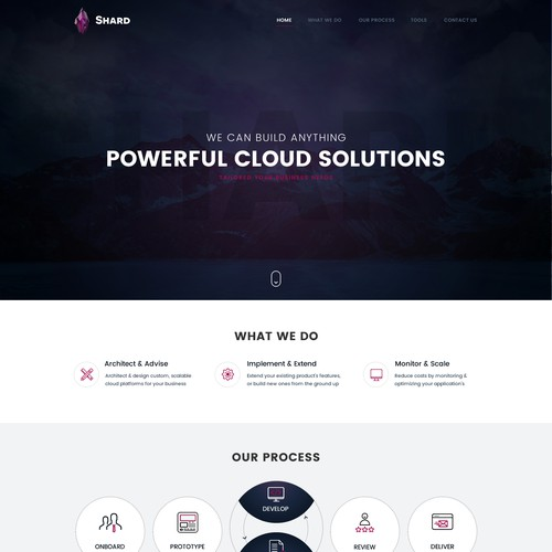 Powerful Cloud solution