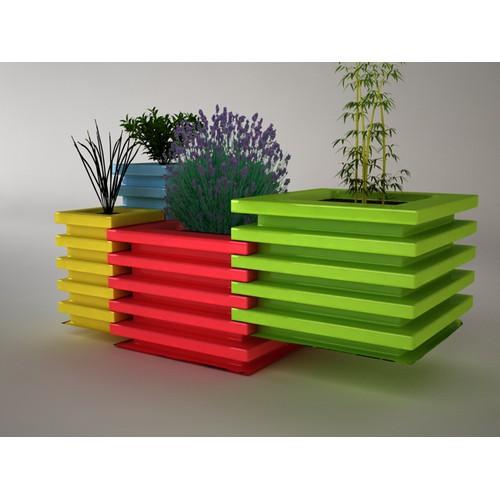 Product design for a modern modular herb garden
