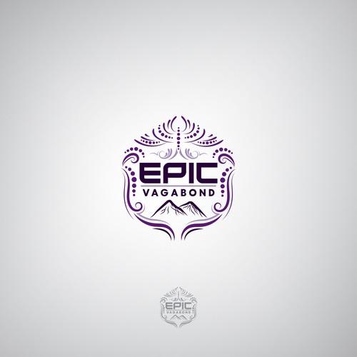 "Logo Concept for ""EPIC VAGABOND"" Travel"