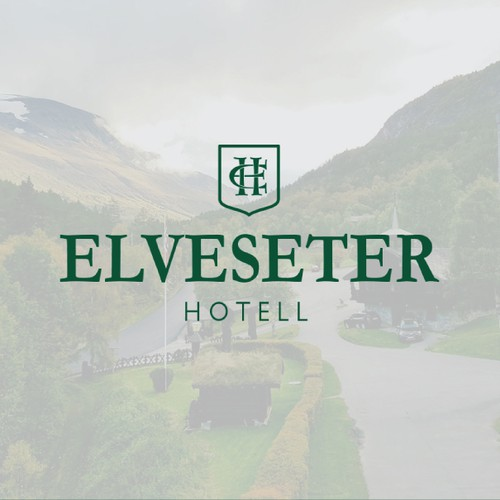 Rebrand of a hotel in Norway Jotunheimen Mountains with long tradition