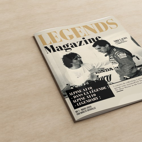 Legends Magazine Cover