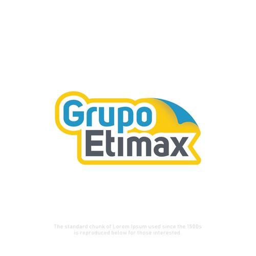 Logo concept for a sticker making company