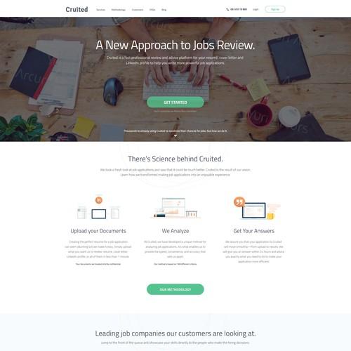 CV Review Website for Cruited.com