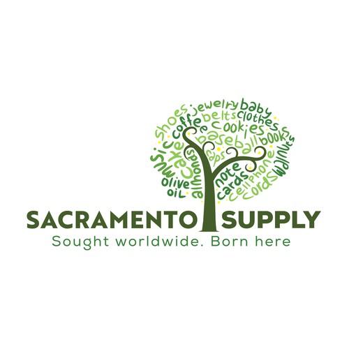 Sacramento Supply platinum logo contest