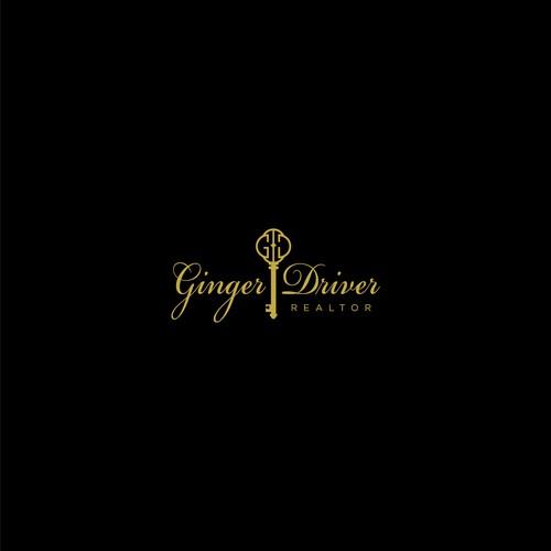 Elegant Logo for Ginger Driver Realtor