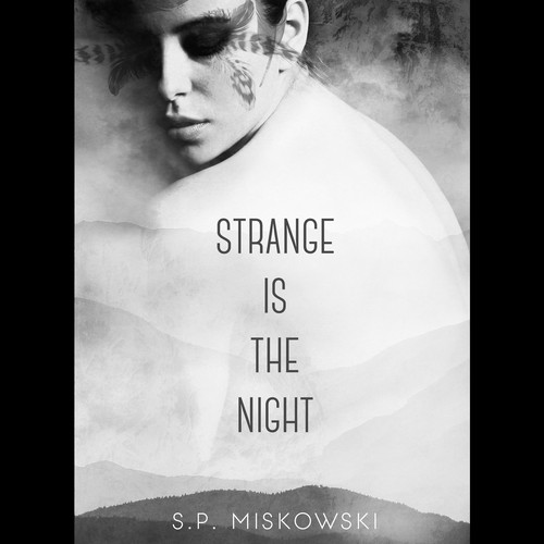 Strange is the night book cover