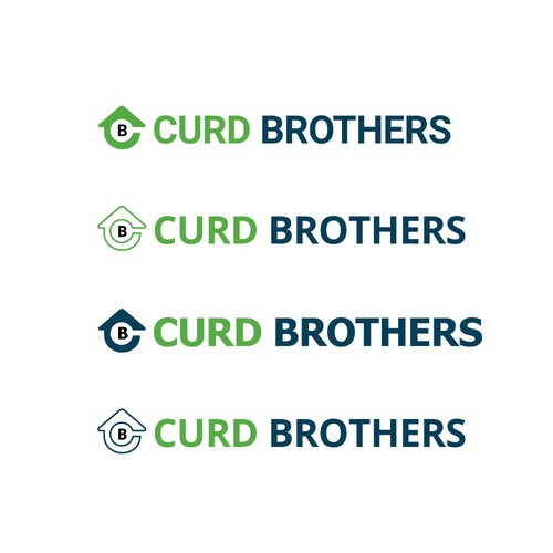 Logo design concept for Curd Brothers