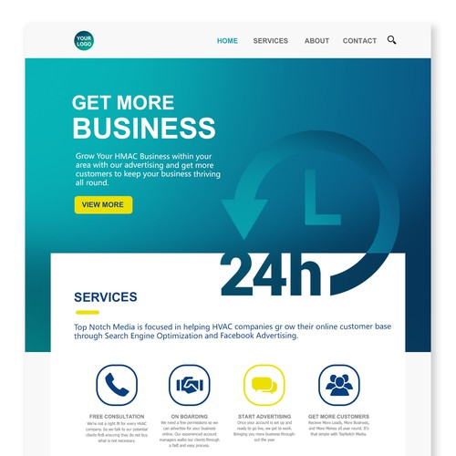 Advertising Agency Web Design Contest 2