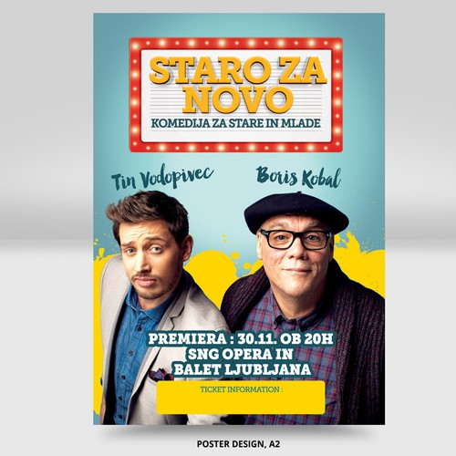Comedy show Poster & Billboard