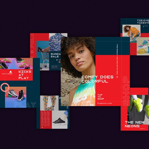 Fila USA : Communications Redesign