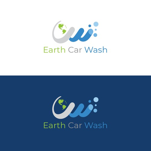 Earth Car Wash Logo