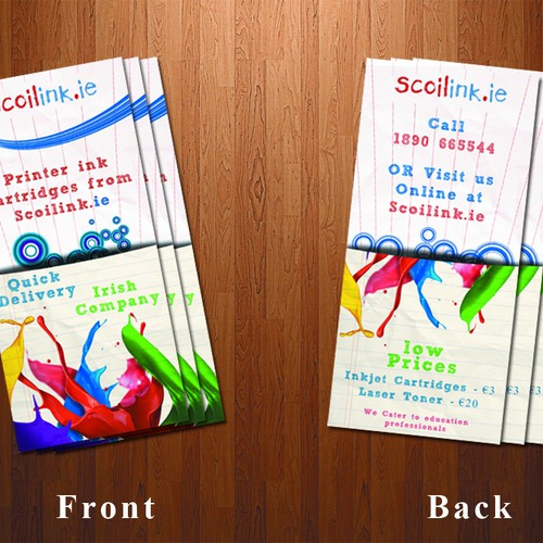 Printer/Ink Refills Flyer