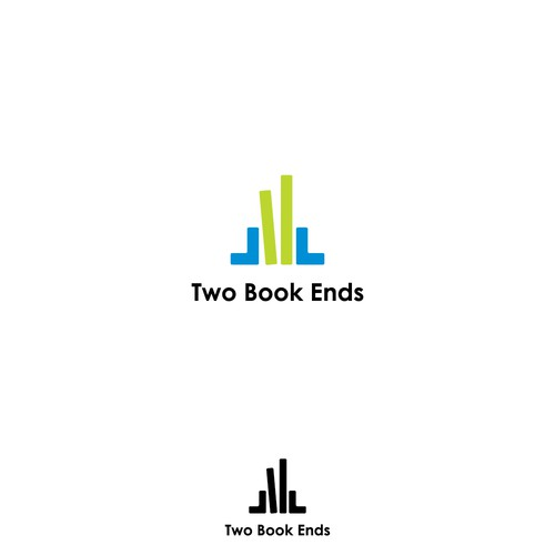 logo for Two Book Ends