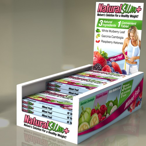 Packaging for Active Science weight loss brand
