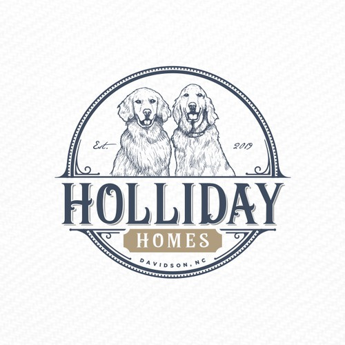An inspired logo for Holliday Homes.