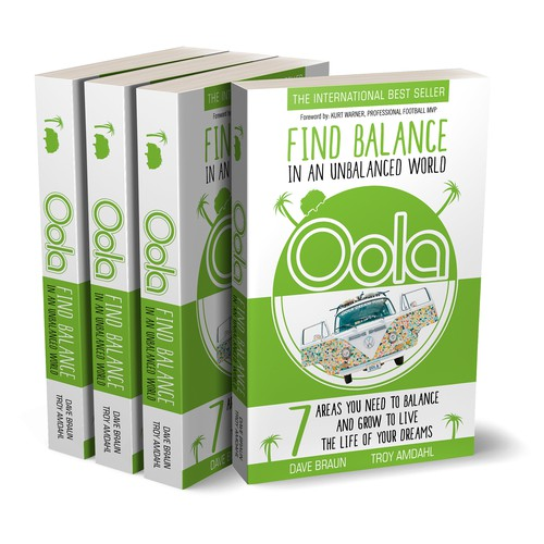 "Book cover for ""Oola - Find Balance in an Unbalanced World"""