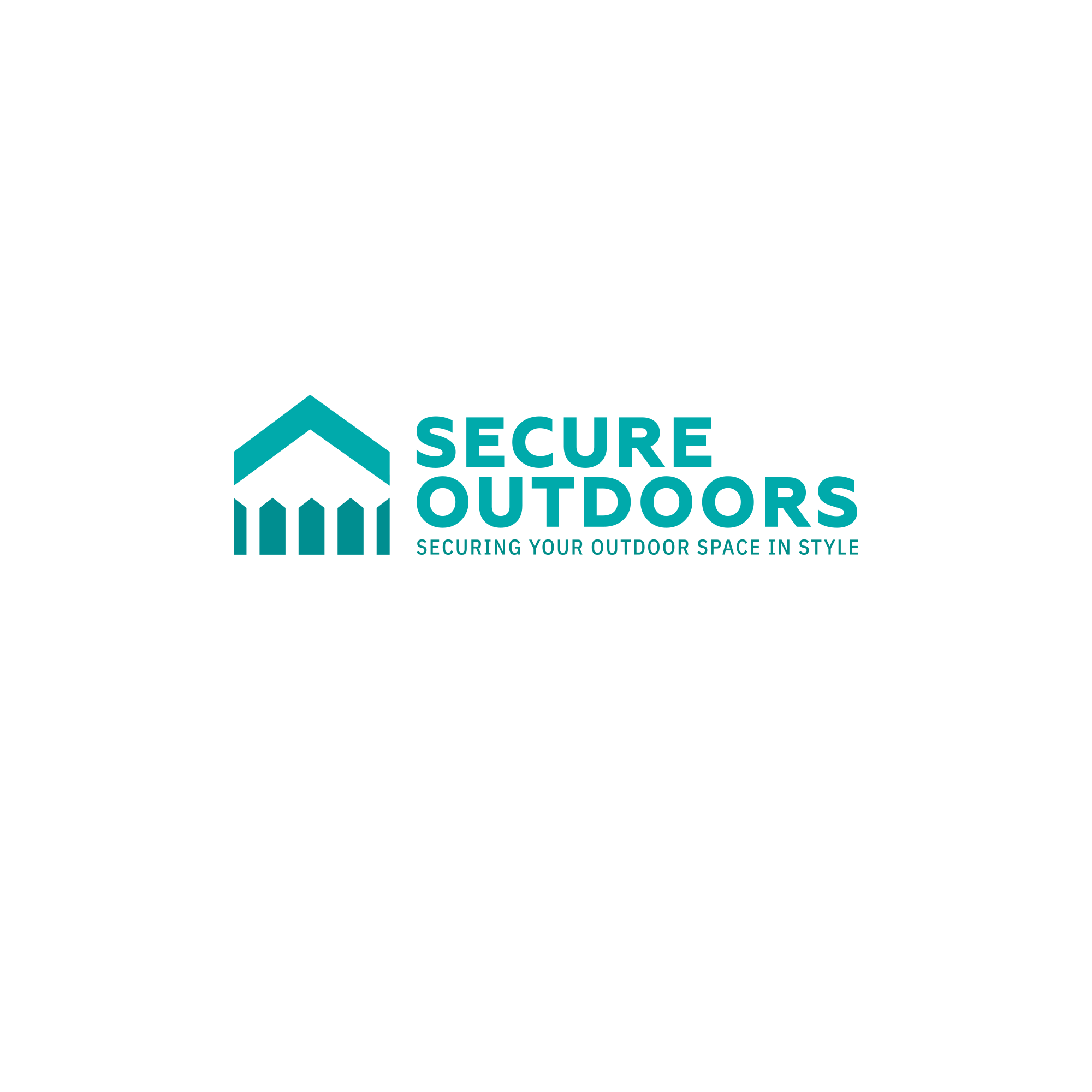 Create a modern, professional logo for Secure Outdoors