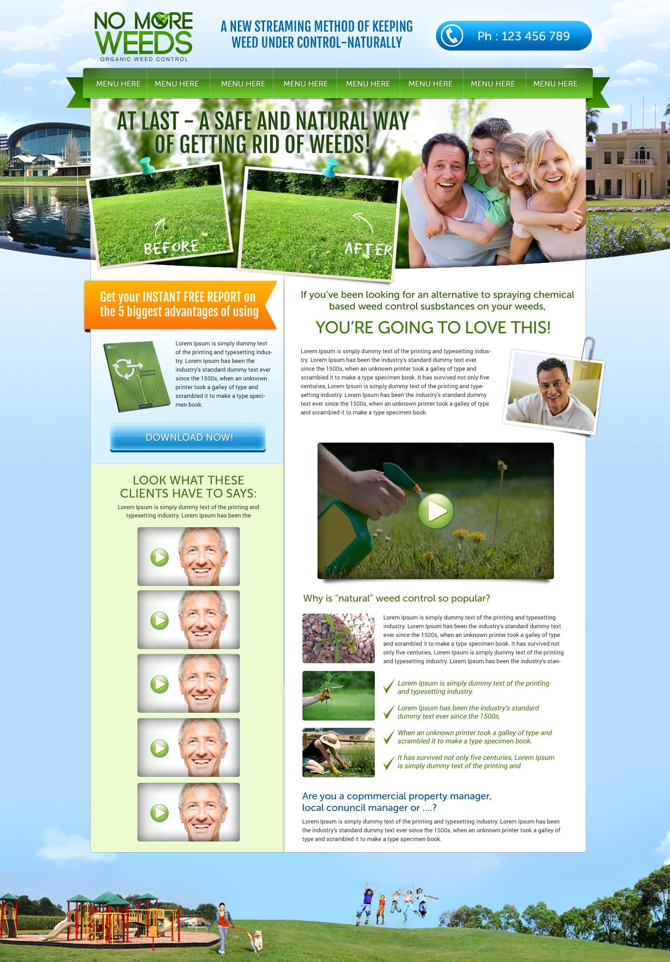 No More Weeds needs a new website