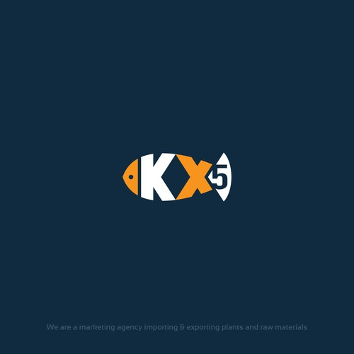 A creative logo for a Marketing agency