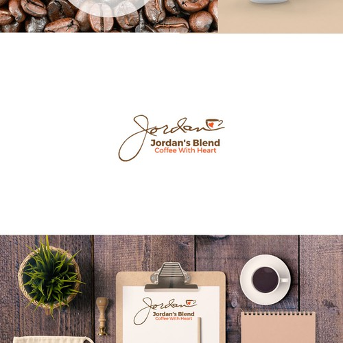 logo for a coffee blend