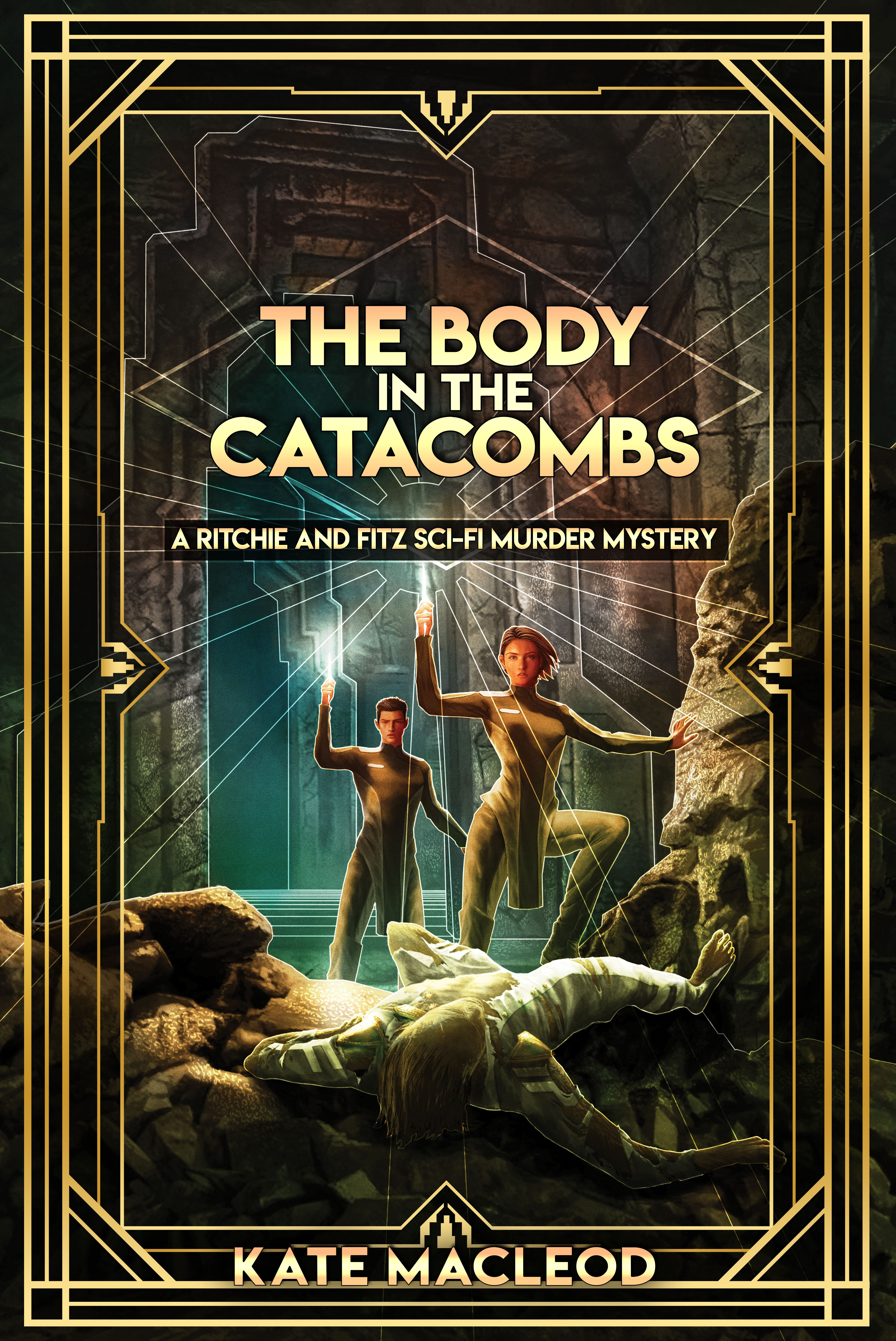 The Body in the Catacombs