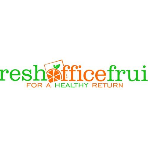 Create a logo design for freshofficefruit.com