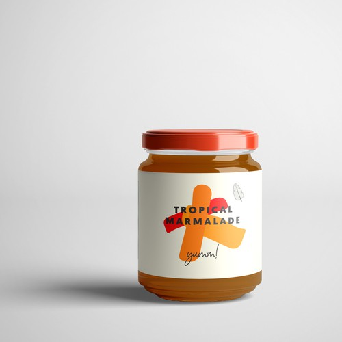 Packaging design for Tropical Marmalade