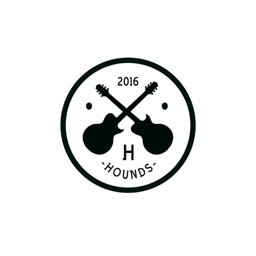 Logo Concept for Hound Group Band