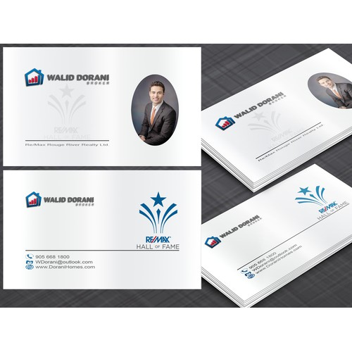 Business Card for Re/Max Agent