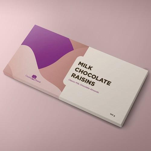Simple Modern Chocolate Packaging