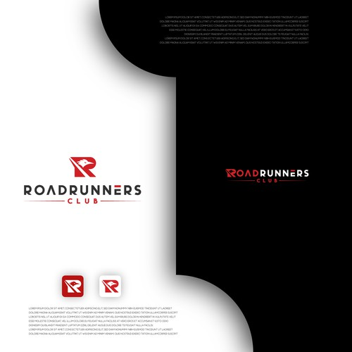 Logo Concept for Roadrunners Club