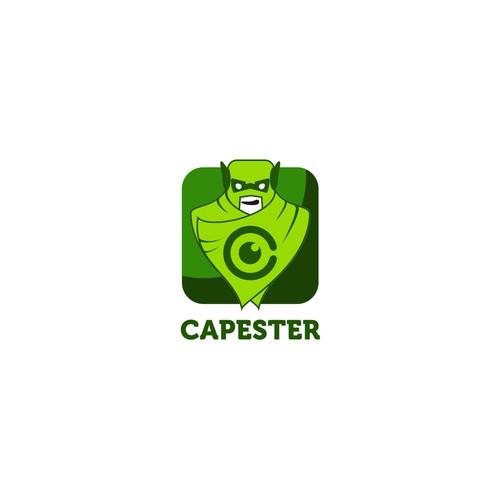 logo concept for capester