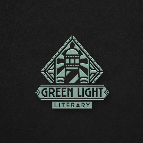 Art Deco Logo For Literary Agency