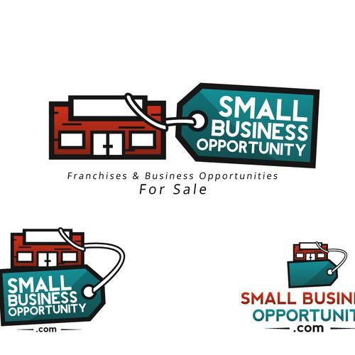 Design a cool logo for SmallBusinessOpportunity.com.