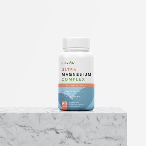 LABEL DESIGN for Vitamin