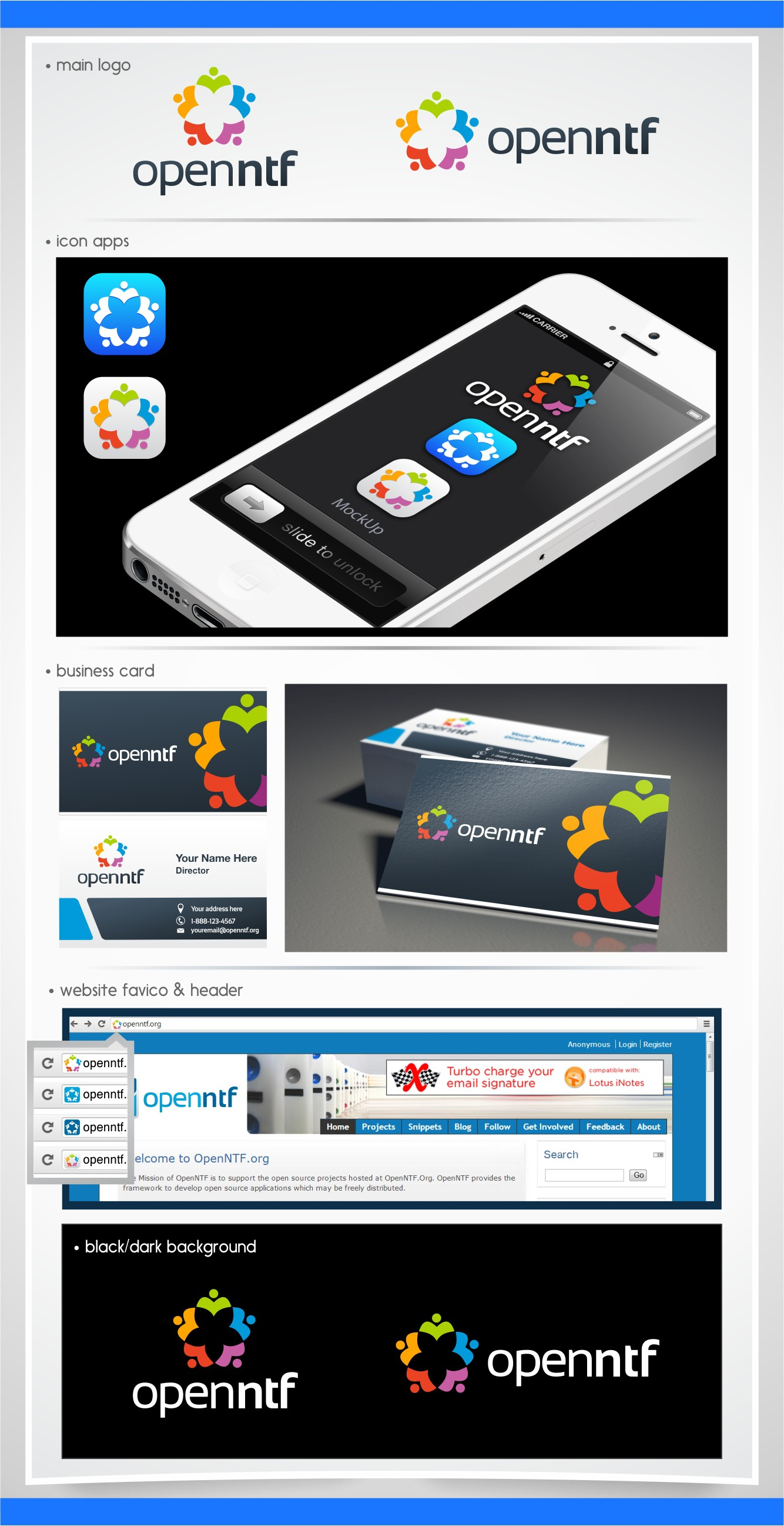 Create a winning logo design for a brand relaunch for OpenNTF.org