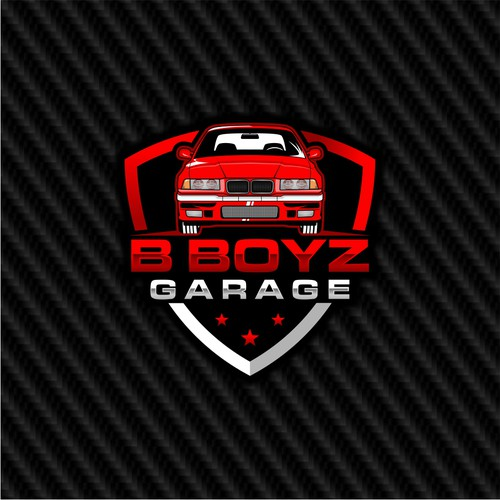 Detailed car logo design