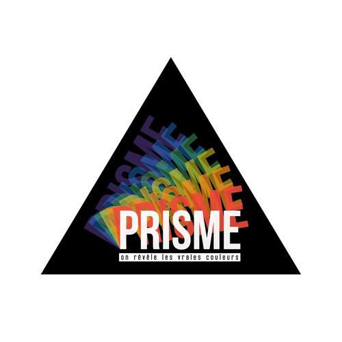 """LGBT Logo for an Association called """"Prisme"""""""